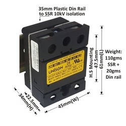 25 AMP RANDOM DC TO AC SOLID STATE RELAY