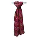 Girls Neck Wrap Pure Kantha Silk Scarf / Scarve