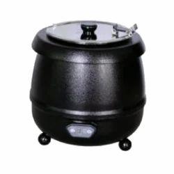 Black Mild Steel Soup Kettles