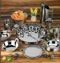 Steel Dinnerware Set 36/42 Pieces Dinner Set