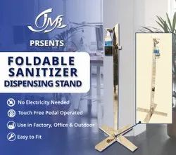 Foot Pedal Operated Hand Sanitizer Stand