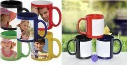 Multicolor Printed Custom Patch Mugs for Home