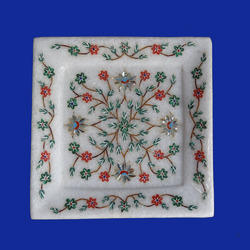 White Marble Small Plate