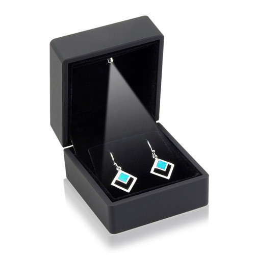 Black LED Earring Packaging Box
