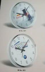 Mix Plastic Promotional Wall Clock, Size: Mix