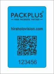 Packplus Tamper Evident Camera Stickers