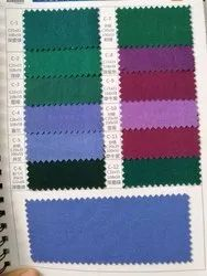 Green 58-60 58 Width Casment Fabric Vat Dyed for Suit