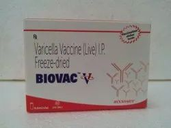 Varicella Vaccine (Live) IP Free Dried Injection