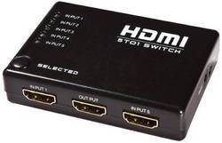 ROQ  HDMI Switcher 5 Ports with Remote Control 1.4b 501 Media Streaming Device