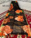 Art Silk Digital Printed Sarees