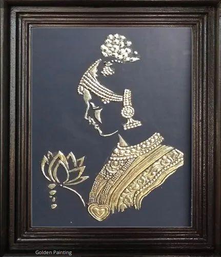 Golden Tanjore Art Paintings