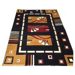 Multicolor Living Room Carpet Size 4