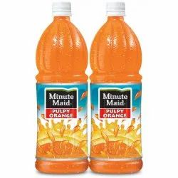 Coca Cola Yellow Minute Maid Pulpy Orange Juice, Packaging Size: 2 Litre, Packaging Type: Bottle
