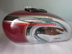 New Triumph T90 5t Speed Twin Chrome And Painted Gas Fuel Petrol Tank 1948 & Cap