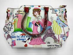 Cotton Printed Ladies Bag
