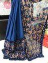 Designer Ruffle Saree