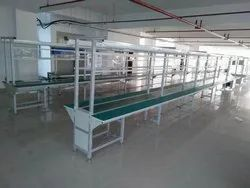 Mobile Charger Assembly Line Conveyors In Aluminum Profile Section