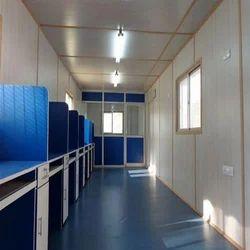 Steel Prefabricated Office Cabin