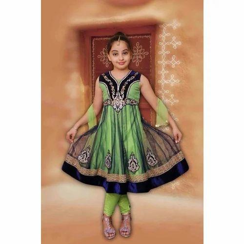 992b7faec4 Cotton Sleeveless Kids Churidar Suit, Rs 1500 /pieces, Kabir ...