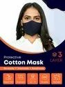 Cotton 3 layer professional face mask
