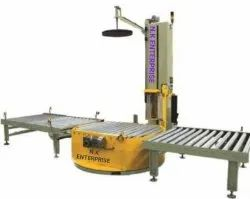 Automatic Inline Pallet Stretch Wrapping Machine