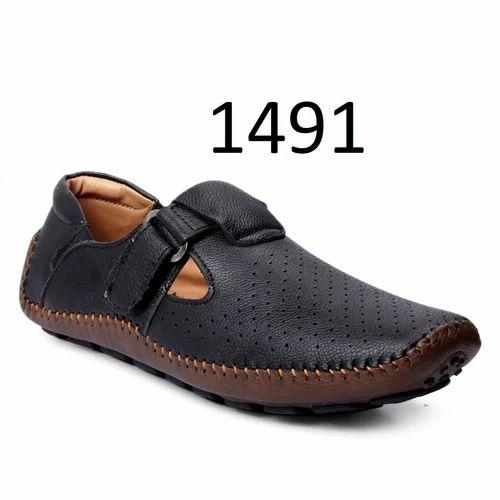 velcro strap mens shoes