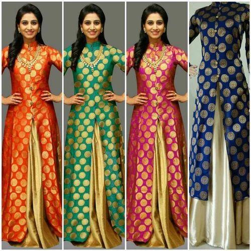 Ladies Georgette Indo Western Dress