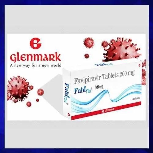 Glenmark Fabiflu Favipiravir 200 Mg Tablets