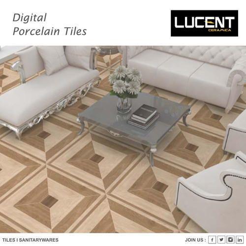 High Gloss Porcelain Tiles 1 5 Mm Rs 399 Box Lucent Ceramica