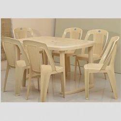Nilkamal Dining Table Mega,  Six  Seater