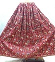 Soft Cotton Long Skirt Kalamkari Design Extremely Wide In Terms Of Variety