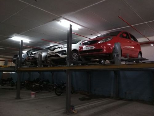 Dolley Shuttle Car Parking System