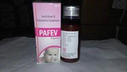 Aceclofenac 50mg Paracetamol 125mg (Suspension)
