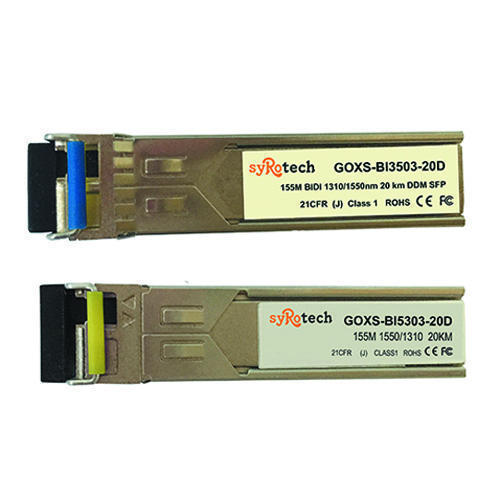 GEPON - Syrotech Media Converter GOMC-1312-SFP Manufacturer