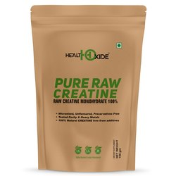 HealthOxide Pure Raw Creatine Monohydrates 100 gm