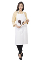 Adjustable Bib Pockets Women Kitchen Apron