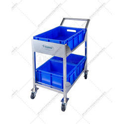 Movable Stainless Steel Trolley