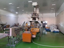 Lined Carton Packing Machine Multi Head Weigher