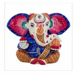 Polyresin Lord Ganesha Sitting Statue