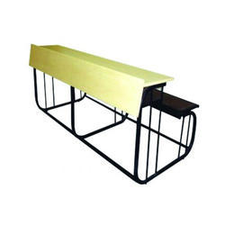 Wooden and Iron Educational Benches