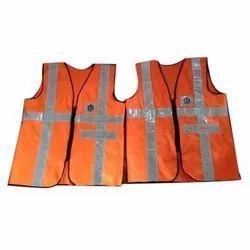 Orange Reflective Safety Jacket