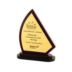 Rising Star Wooden Trophy