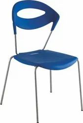 Blue Cafeteria Chairs DPC 006