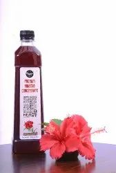 Red Premium Hibiscus Concentrate - 100% Fresh-Natural-Pure