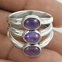 Blue Shine 925 Sterling Silver Labradorite Ring