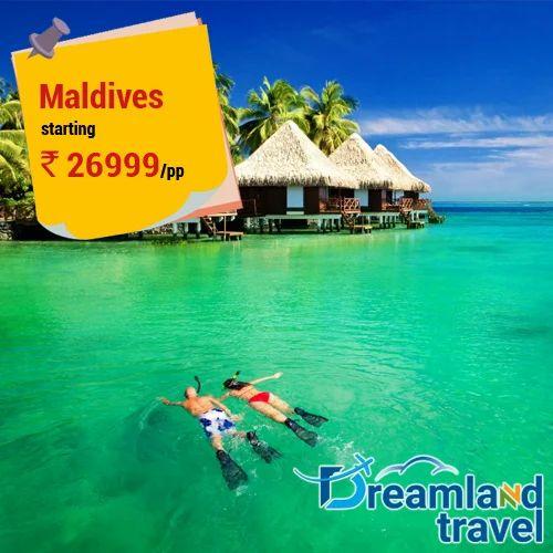 Maldives Tour Package In Patel Nagar Delhi