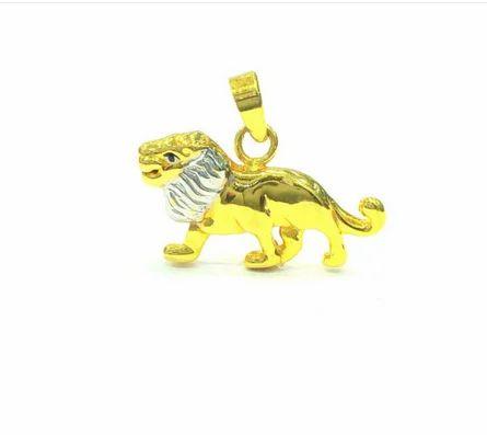 Mahna jewellers golden 22k yellow gold lion pendant rs 9950 piece mahna jewellers golden 22k yellow gold lion pendant aloadofball Choice Image
