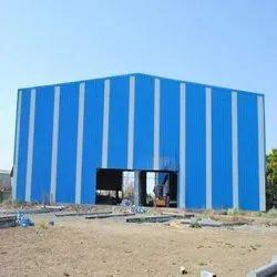 Blue Steel Industrial Sheds