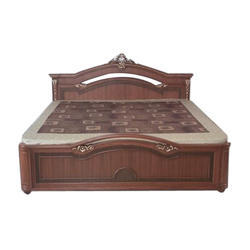 Wooden Double Bed In Rajkot लकड क डबल ब ड