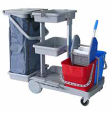 Janitorial Kentucky Mopping Trolley